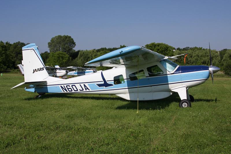 N60JA Helio U-10D Super Courier c/n 1240 Oshkosh/KOSH/OSH 29-07-10