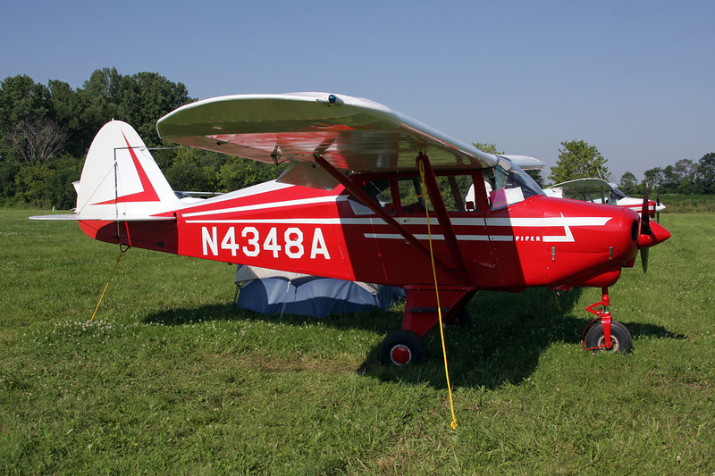 N4348A Piper PA-22-150 Tri-Pacer c/n 22-3704 Oshkosh/KOSH/OSH 29-07-10