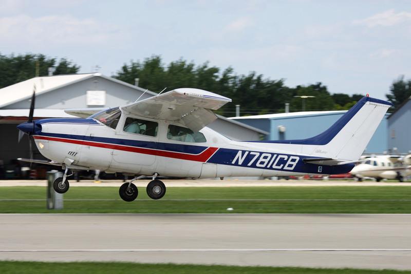 N781CB Cessna T.210M Turbo Centurion c/n 210-62235 Oshkosh/KOSH/OSH 28-07-10