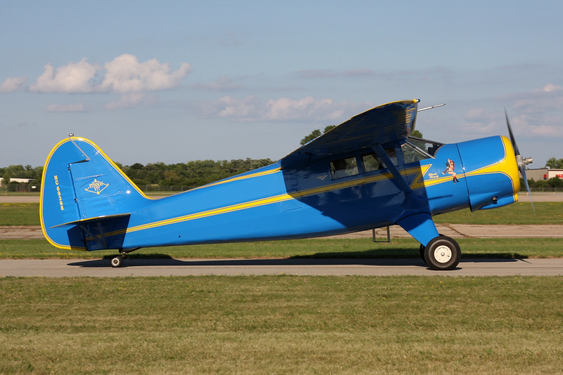 N69398 Stinson AT-19 Reliant c/n 77-293 Oshkosh/KOSH/OSH 25-07-16