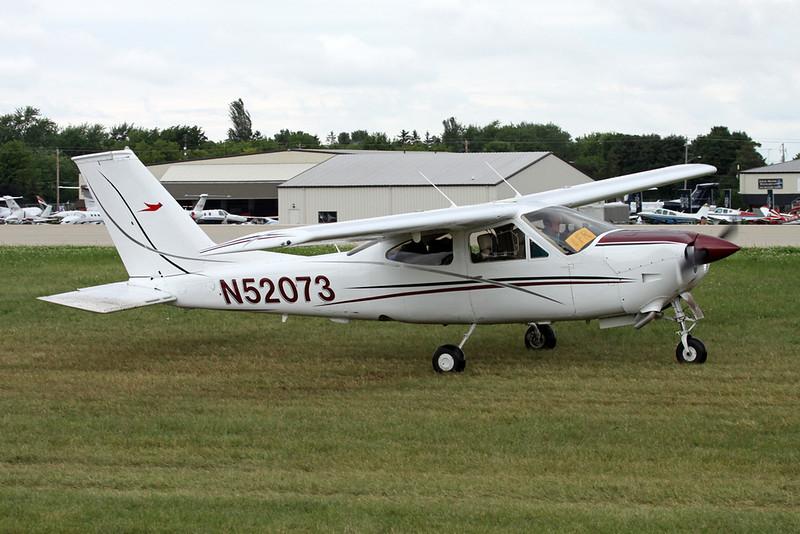 N52073 Cessna 177RG Cardinal RG c/n 177RG-1161 Oshkosh/KOSH/OSH 28-07-16