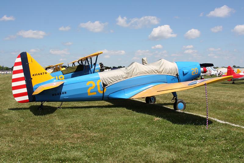 N54508 Fairchild PT-19A Cornell c/n 141-831 Oshkosh/KOSH/OSH 25-07-16