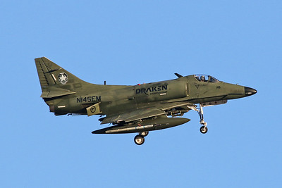 N145EM Douglas A-4G Skyhawk c/n 13868 Nellis/KLSV/LSV 02-02-18