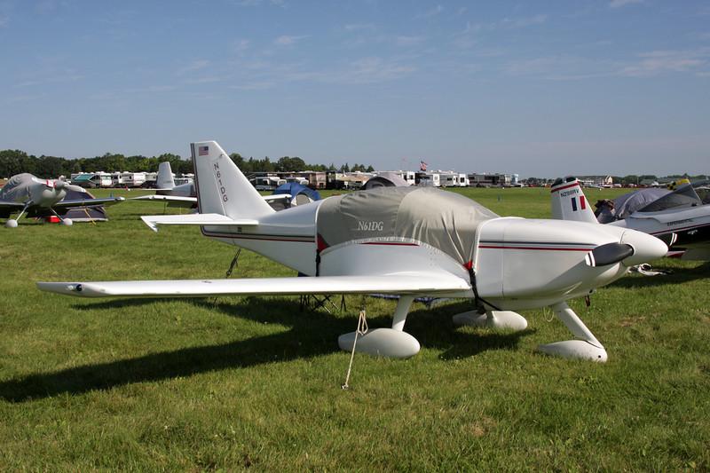 N61DG Stoddard-Hamilton Glasair I c/n 633 Oshkosh/KOSH/OSH 26-07-10