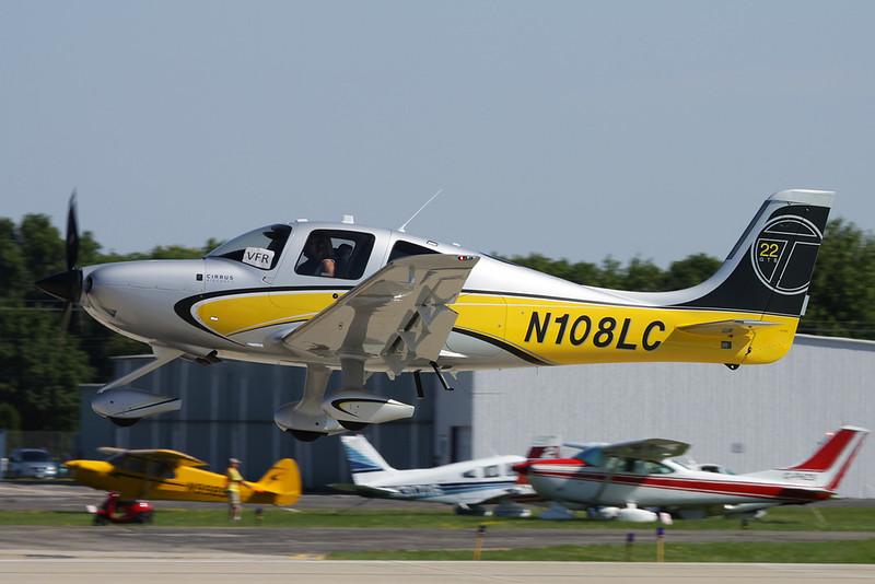 N108LC Cirrus Design SR-22T c/n 0535 Oshkosh/KOSH/OSH 01-08-13
