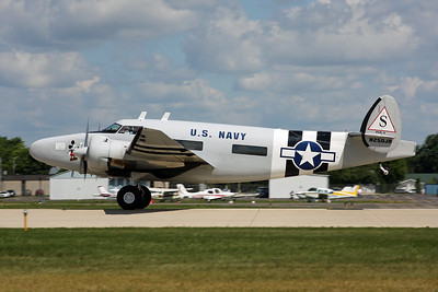 N250JR Lockheed C-60A Howard 250 c/n 18-2232 Oshkosh/KOSH/OSH 01-08-13