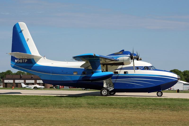 N98TP Grumman G-64 HU-16B Albatross c/n G243 Oshkosh/KOSH/OSH 30-07-16