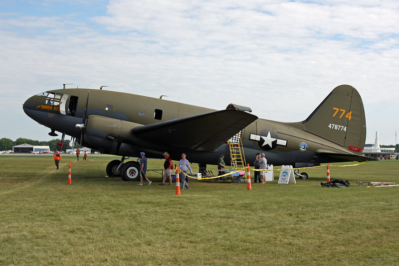 N78774 (478774) Curtiss C-46 F-1CU Commando c/n 22597 Oshkosh/KOSH/OSH 30-07-16