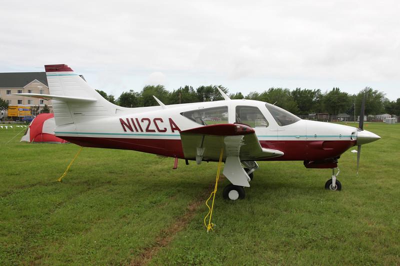 N112CA Rockwell Commander 112 c/n 023 Oshkosh/KOSH/OSH 28-07-10