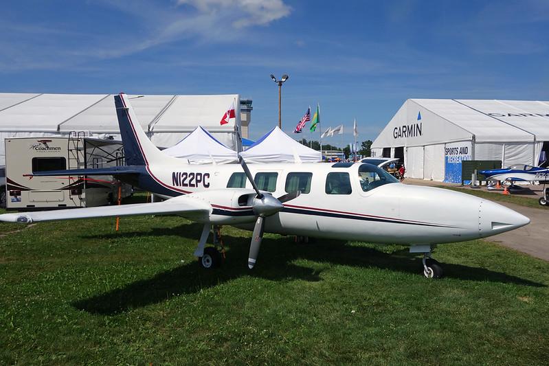 N122PC Piper PA-60-600 Aerostar c/n 60-0034-71 Oshkosh/KOSH/OSH 30-07-16