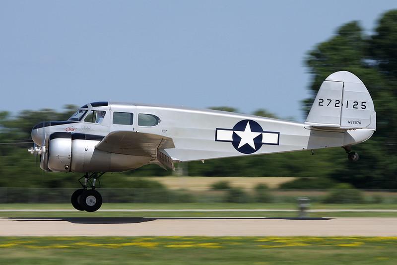 N88878 (272125) Cessna UC-78C Bobcat c/n 4121 Oshkosh/KOSH/OSH 26-07-16
