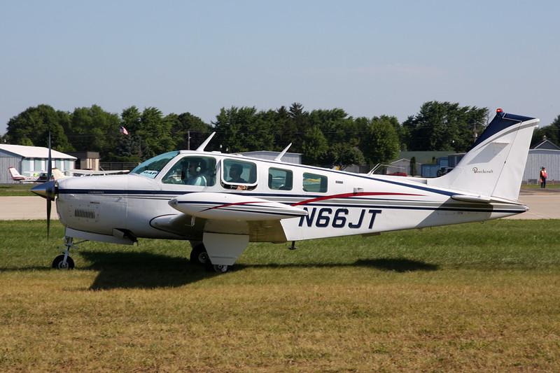 N66JT Beech A36 Bonanza 36 c/n E-731 Oshkosh/KOSH/OSH 01-08-13
