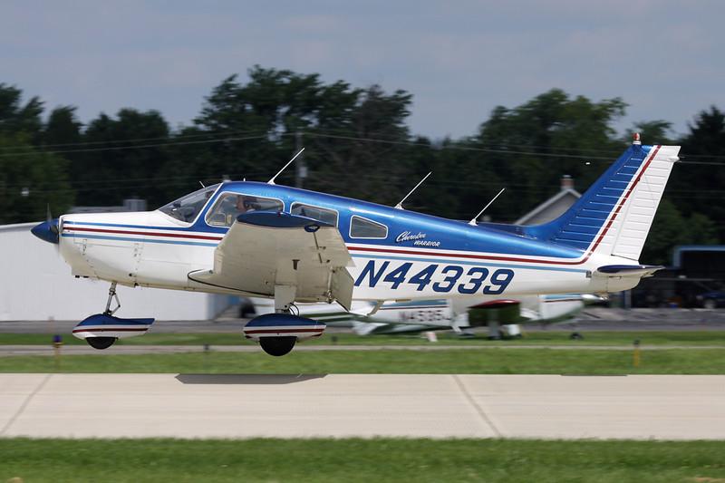 N44339 Piper PA-28-151 Warrior c/n 28-7415623 Oshkosh/KOSH/OSH 28-07-10