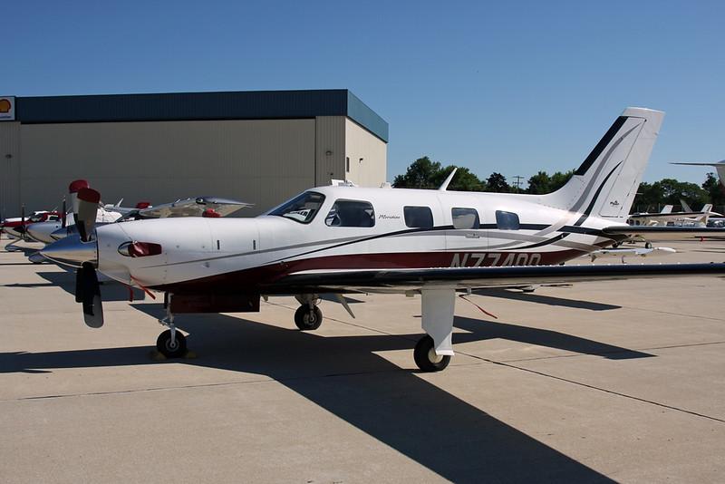 N77400 Piper PA-46-500TP Malibu Meridian c/n 4697206 Oshkosh/KOSH/OSH 25-07-16
