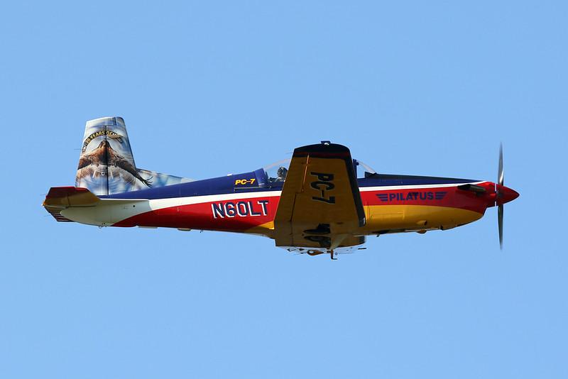 N60LT Pilatus PC-7 c/n 615 Hasselt-Kiewit/EBZH 24-08-19