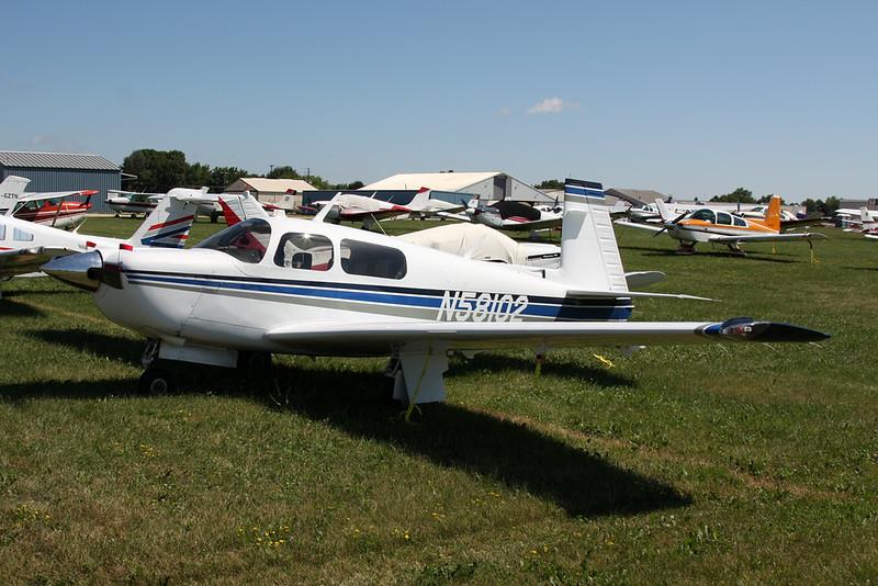 N58102 Mooney M.20J-205 c/n 24-3008 Oshkosh/KOSH/OSH 25-07-16