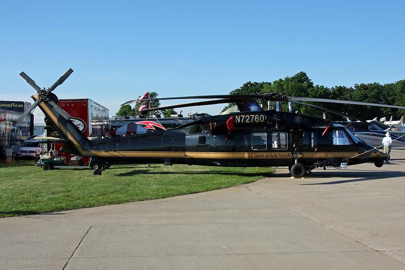 "N72760 Sikorsky UH-60M Blackhawk ""U.S. Customs & Border Protection"" c/n 703272 Oshkosh/KOSH/OSH 25-07-16"
