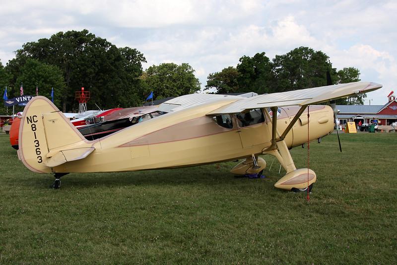N81363 Fairchild F.24R-46 Argus c/n 46-263 Oshkosh/KOSH/OSH 27-07-16