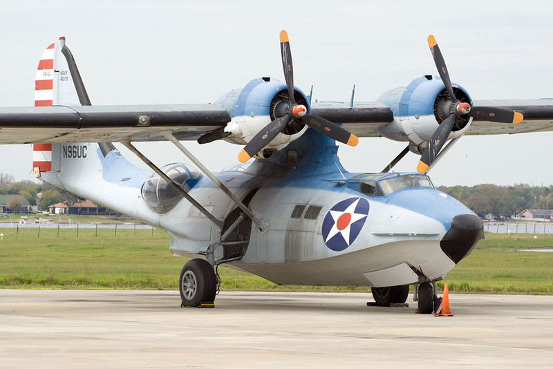 N96UC (48375) Consolidated PBY-5A Catalina c/n 1737 Polk City 20-02-08
