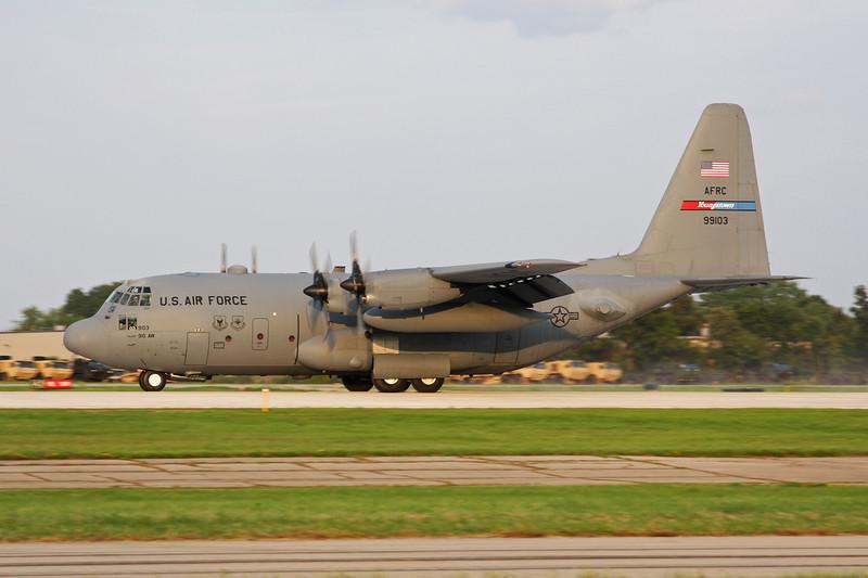 """89-9103 Lockheed C-130H Hercules """"United States Air Force"""" c/n 382-5218 Oshkosh/KOSH/OSH 29-07-10"""