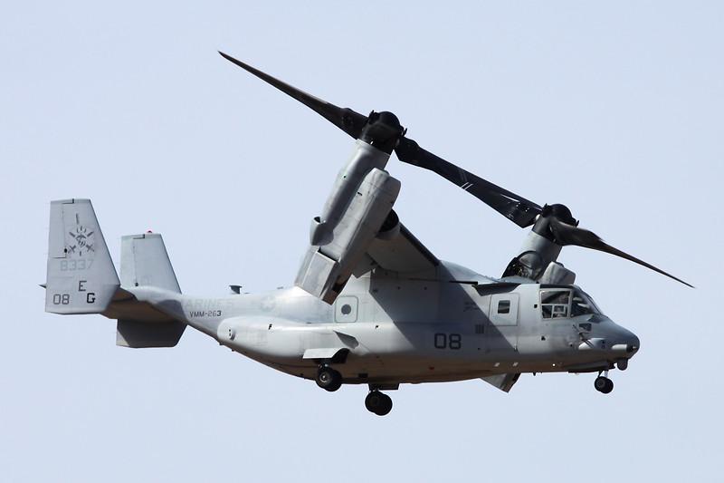 "168337 (EG-08) Bell-Boeing MV-22B Osprey ""United States Marine Corps"" c/n D0240 Las Palmas/GCLP/LPA 04-02-16"