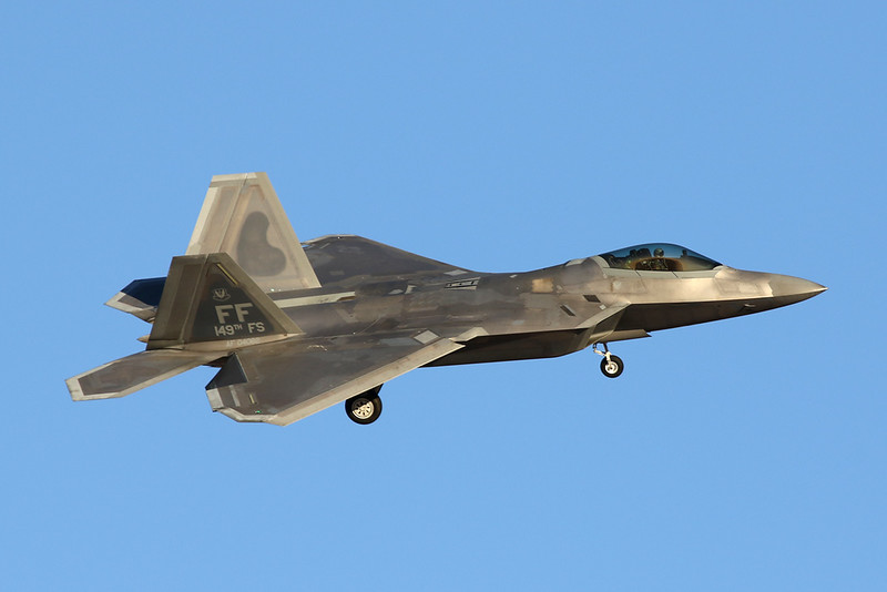 "04-4082 (FF) Lockheed F-22A Raptor ""United States Air Force"" c/n 4082 Nellis/KLSV/LSV 02-02-18"