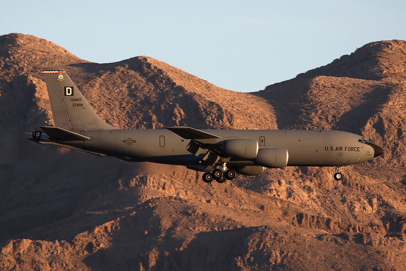 "63-7999 (D) Boeing KC-135R Stratotanker ""United States Air Force"" c/n 18616 Nellis/KLSV/LSV 02-02-18"
