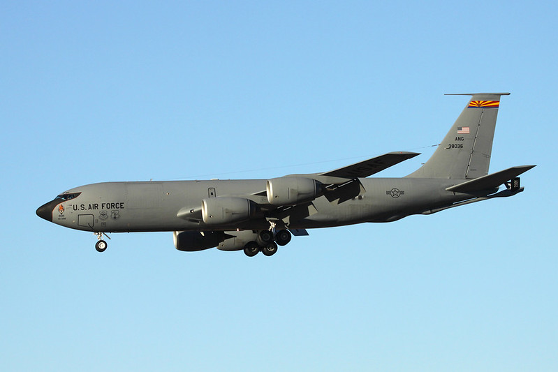 "63-8036 Boeing KC-135R Stratotanker ""United States Air Force"" c/n 18653 Phoenix-Sky Harbor/KPHX/PHX 17-11-16"