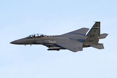 "96-0200 (OT) McDonnell-Douglas F-15E Strike Eagle ""United States Air Force"" c/n 1327 Nellis/KLSV/LSV 01-02-18"
