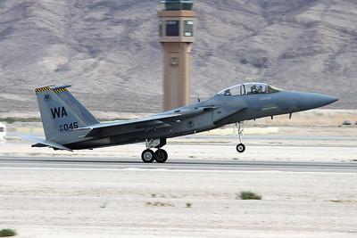 "84-0045 (WA) McDonnell-Douglas F-15D Eagle ""United States Air Force"" c/n 933 Nellis/KLSV/LSV 12-11-16"