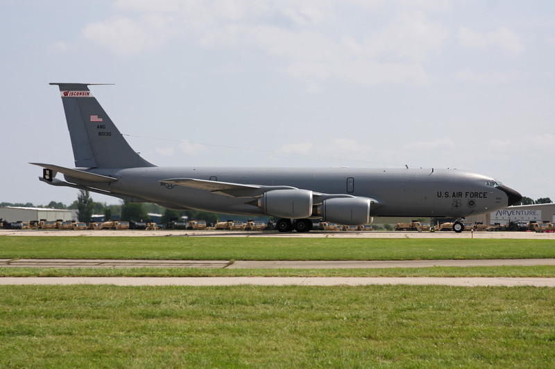 "58-0130 Boeing KC-135R Stratotanker ""United States Air Force"" c/n 17875 Oshkosh/KOSH/OSH 27-07-10"