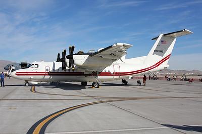 "N765MG de Havilland Canada EO-5C ""United States Army"" c/n 65 Nellis/KLSV/LSV 12-11-16"