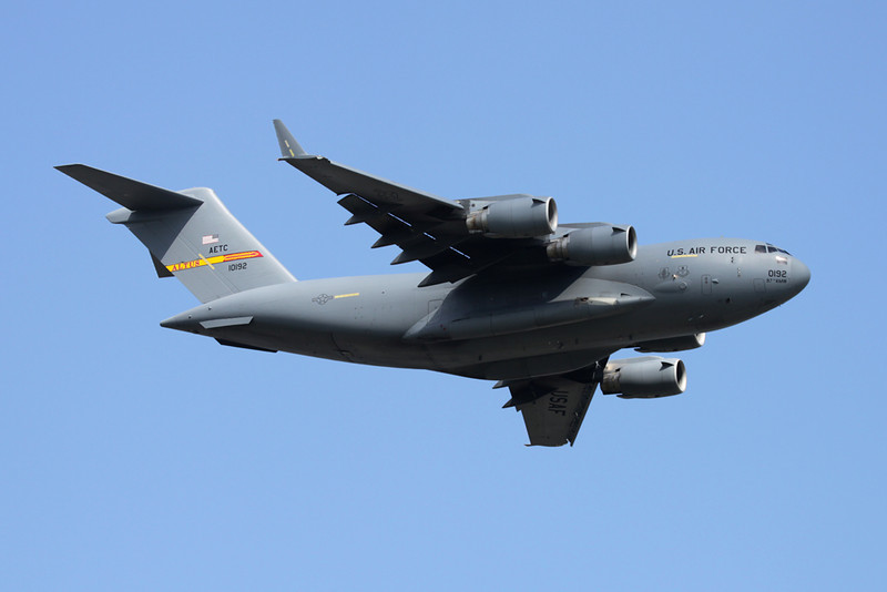 "01-0192 Boeing C-17A Globemaster III ""United States Air Force"" c/n F-99/P-92 Oshkosh/KOSH/OSH 29-07-10"
