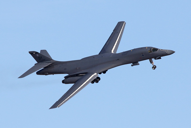 "86-0097 (DY) Rockwell B-1B Lancer ""United States Air Force"" c/n 57 Nellis/KLSV/LSV 02-02-18"