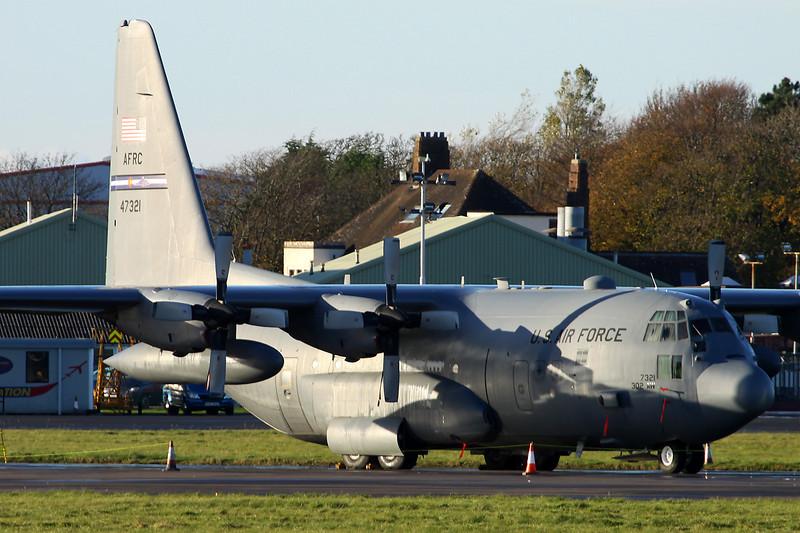 94-7321 Lockheed C-130H Hercules c/n 5403 Prestwick/EGPK/PIK 10-11-13