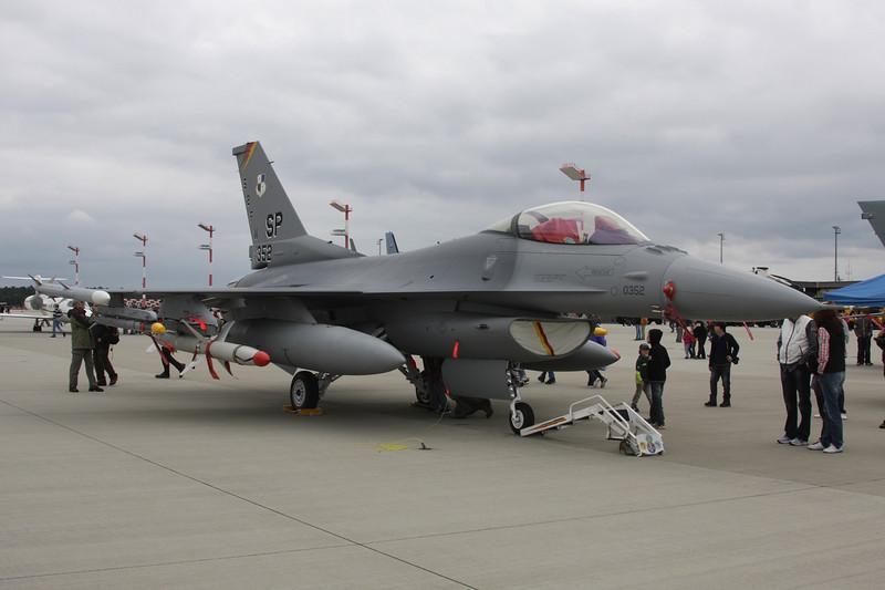 "91-0352 General Dynamics F-16CJ Fighting Falcon ""United States Air Force"" c/n CC-50 Spangdahlem/ETAD/SPM 30-07-11"