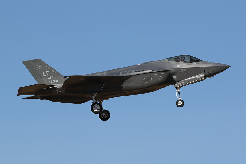 "13-5068 (LF) Lockheed Martin F-35A Lightning II ""United States Air Force"" c/n AF-74 Luke/KLUF/LUF 31-01-18"