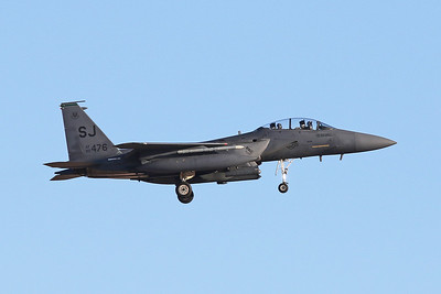 "89-0476 (SJ) McDonnell-Douglas F-15E Strike Eagle ""United States Air Force"" c/n 1123 Nellis/KLSV/LSV 02-02-18"