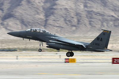"91-0305 (WA) McDonnell-Douglas F-15E Strike Eagle ""United States Air Force"" c/n 1212 Nellis/KLSV/LSV 12-11-16"