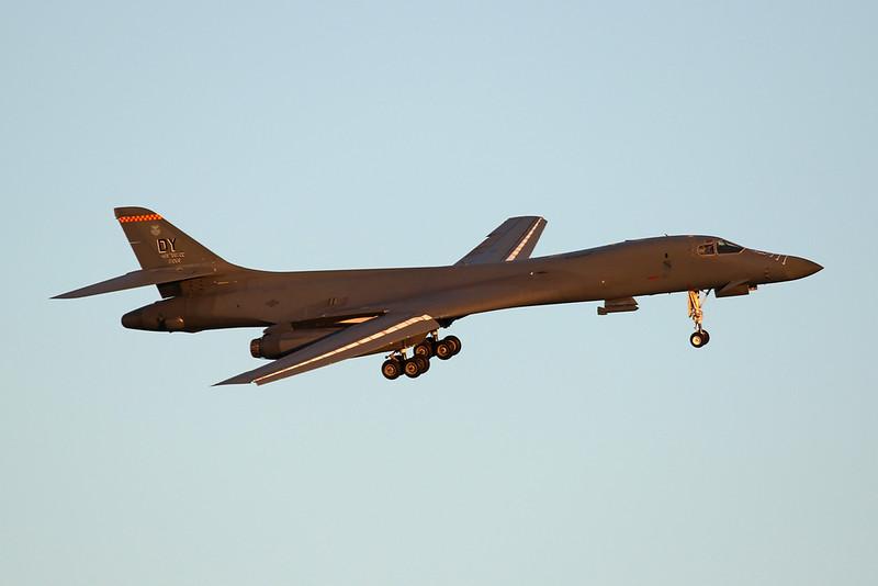 "85-0089 (DY) Rockwell B-1 Lancer  ""United States Air Force"" c/n 49 Nellis/KLSV/LSV 02-02-18"