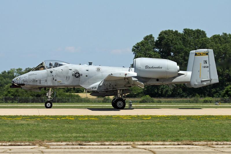 "78-0658 (IN) Fairchild A-10A Thunderbolt II ""United States Air Force"" c/n 278 Oshkosh/KOSH/OSH 26-07-16"