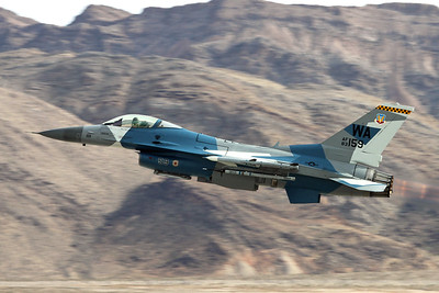 "83-1159 (WA) General Dynamics F-16C Fighting Falcon ""United States Air Force"" c/n 5C-42 Nellis/KLSV/LSV 12-11-16"