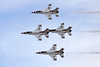 """Unknown General Dynamics F-16 Fighting Falcon """"United States Air Force"""" c/n unknown Nellis/KLSV/LSV 12-11-16 """"Thunderbirds"""""""