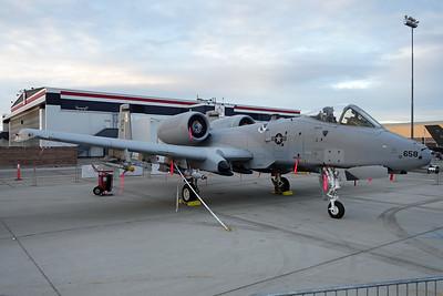 "82-0658 (OT) Fairchild A-10C Thunderbolt II ""United States Air Force"" c/n 706 Nellis/KLSV/LSV 12-11-16"