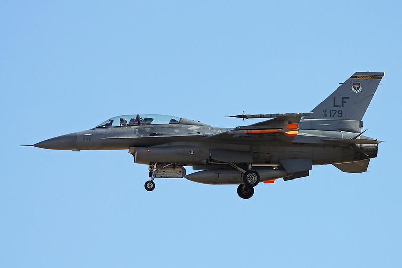 """89-2179 (LF) General Dynamics F-16DG Fighting Falcon """"United States Air Force"""" c/n 1D-54 Luke/KLUF/LUF 15-11-16"""