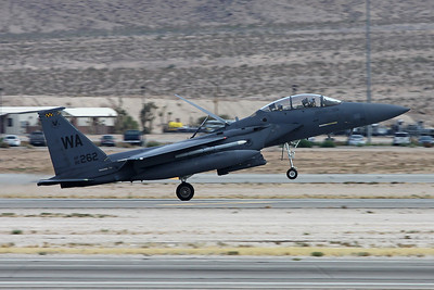 "90-0262 (WA) McDonnell-Douglas F-15E Strike Eagle ""United States Air Force"" c/n 1204 Nellis/KLSV/LSV 12-11-16"