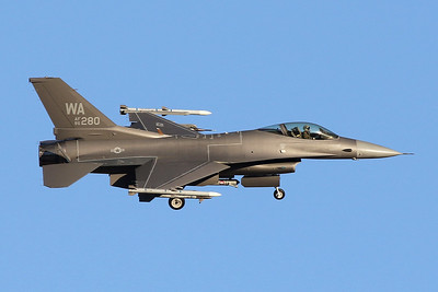 "86-0280 (WA) General Dynamics F-16C Fighting Falcon ""United States Air Force"" c/n 5C-386 Nellis/KLSV/LSV 02-02-18"