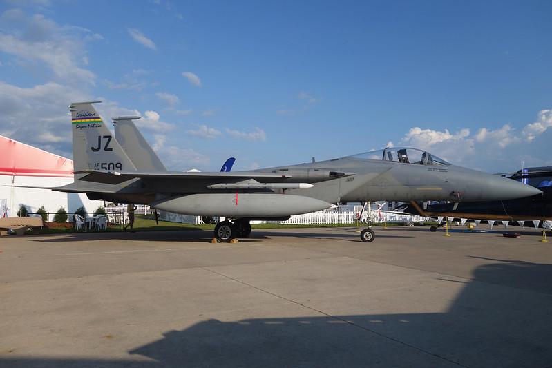 "78-0509 (JZ) McDonnell-Douglas F-15C Eagle ""United States Air Force"" c/n 494 Oshkosh/KOSH/OSH 27-07-16"