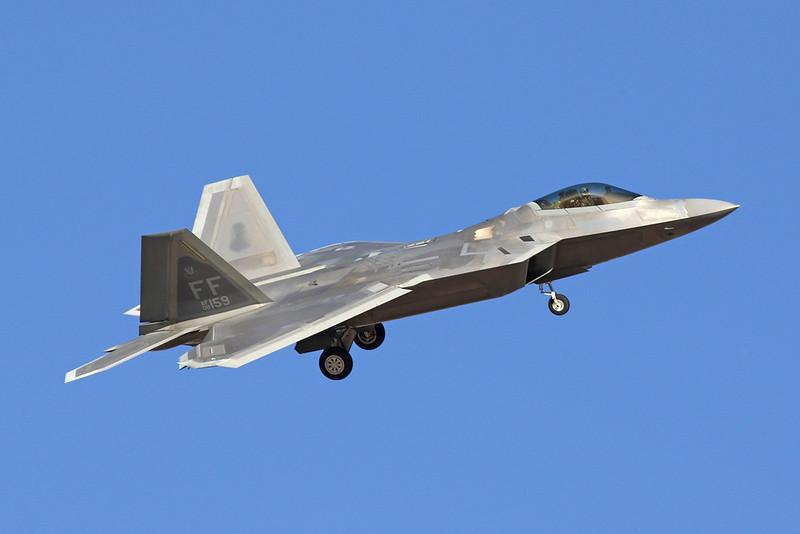 "08-4159 Lockheed F-22A Raptor ""United States Air Force"" c/n 4159 Nellis/KLSV/LSV 02-02-18"