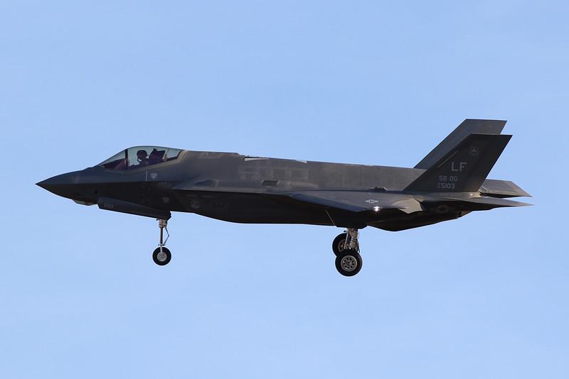 """14-5103 (LF) Lockheed Martin F-35A Lightning II """"United States Air Force"""" c/n AF-104 Luke/KLUF/LUF 30-01-18"""